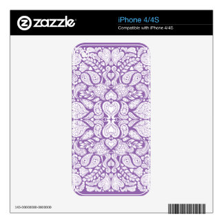 Hearts Mania Skin For The iPhone 4S