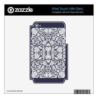 Hearts Mania Skins For iPod Touch 4G