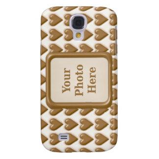 Hearts - Milk Chocolate and White Chocolate Samsung S4 Case