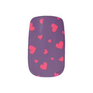 Hearts Minx® Nail Art