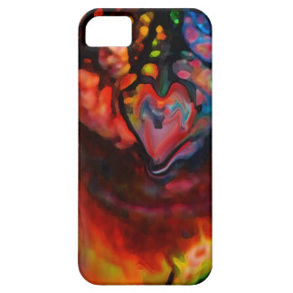 Hearts Mixed Media Original Art by ~Karrilee~ iPhone SE/5/5s Case