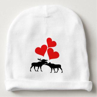 Hearts & Moose Baby Beanie