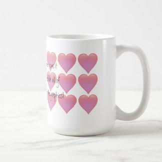 Hearts Mug - customize it!