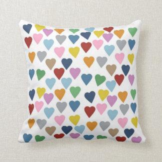 Hearts Multi Pillows