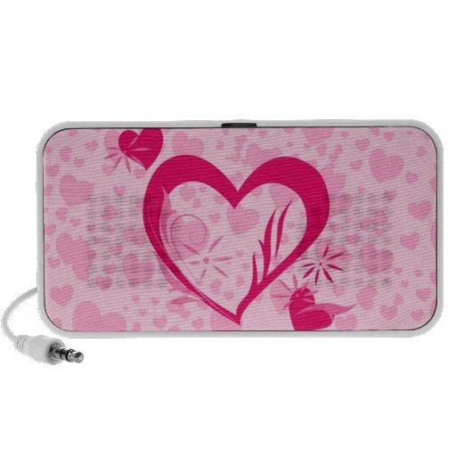 Hearts Notebook Speakers