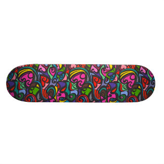 Hearts of color  Skateboard