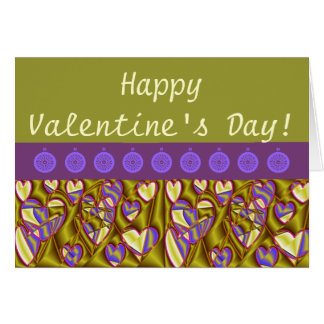 Hearts of Gold Greeting Cards
