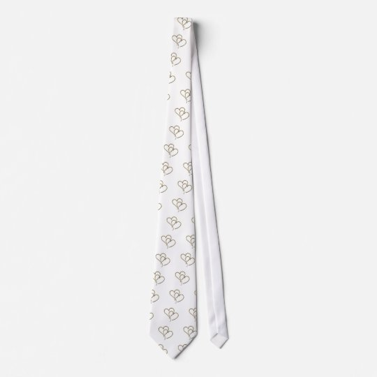Hearts of gold tie