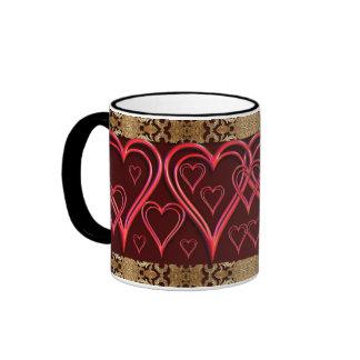 Hearts of Hearts Coffee Mugs