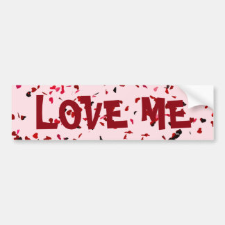 Hearts Of Love Bumper Sticker
