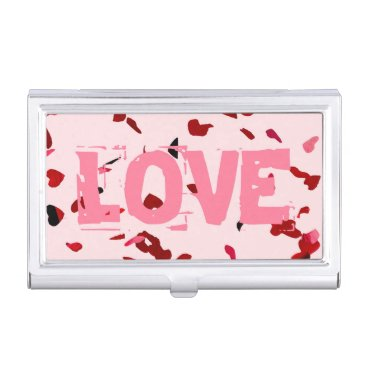 Professional Business Hearts Of Love Business Card Holder