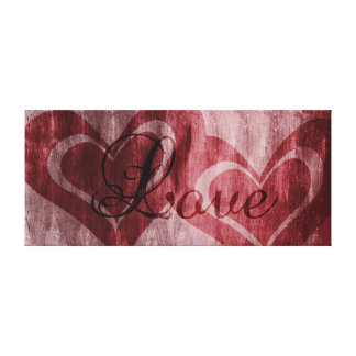 Hearts of Love Canvas Print