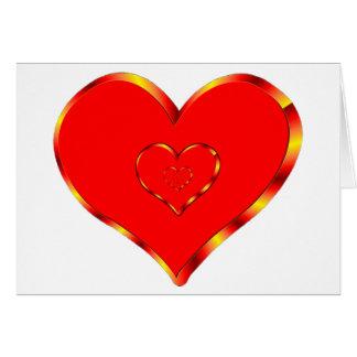 Hearts of Love Card