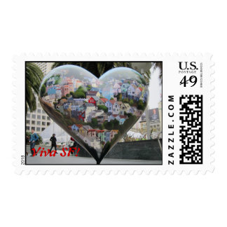 Hearts of San Francisco! Stamp