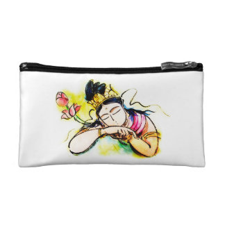 Hearts of the heart of Kannon/the Merciful Goddess Makeup Bag