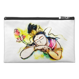 Hearts of the heart of Kannon/the Merciful Goddess Travel Accessories Bags