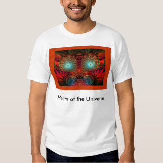 Hearts of the Universe Red T-shirt