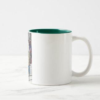 Hearts of Union Square Two-Tone Coffee Mug