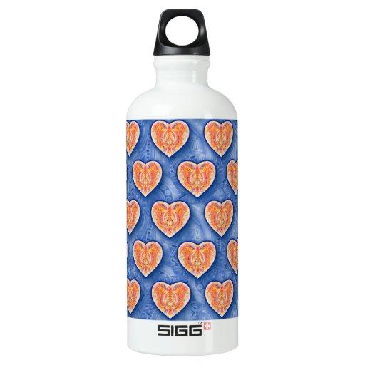 Hearts on Blue SIGG Traveler 0.6L Water Bottle