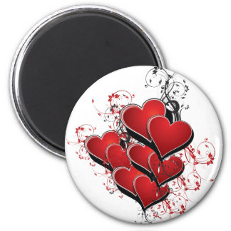 Hearts on Fire Magnet