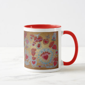 Hearts on Fire Mug by Sonya Ambrose