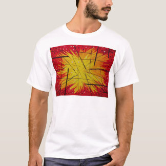 Hearts on Fire Watercolor T-Shirt