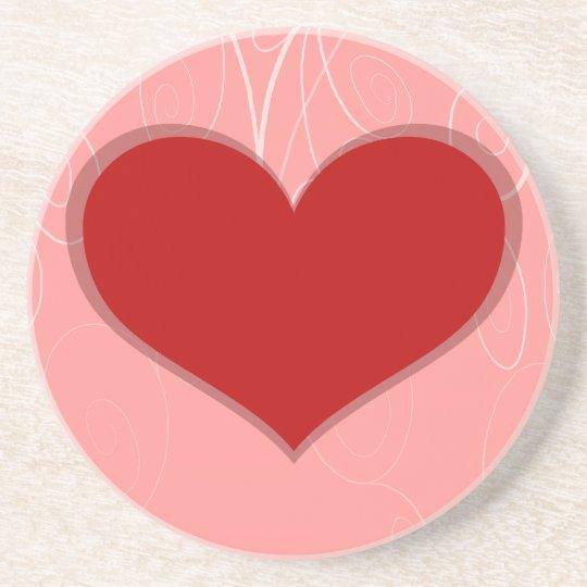 Hearts on Swirls Coaster