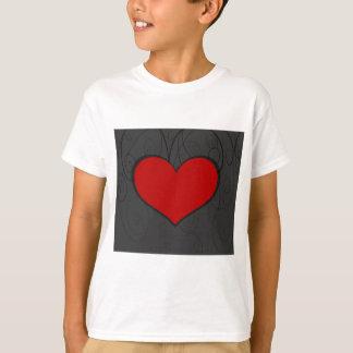 Hearts on Swirls T-Shirt