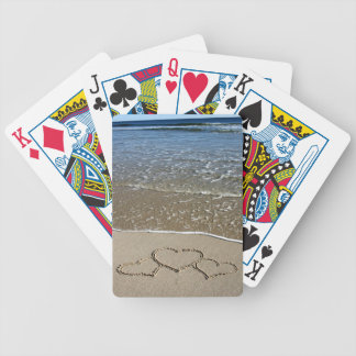 Hearts on the Jersey Shore Playing Cards