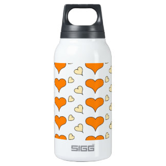 hearts orange SIGG thermo 0.3L insulated bottle