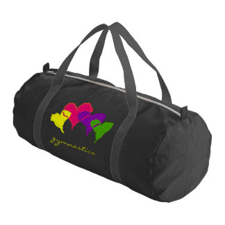 Hearts Personalized Gym Duffel Bag