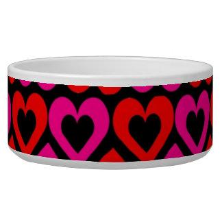 Hearts Pet Bowl