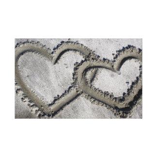 Hearts Photo Canvas Canvas Prints