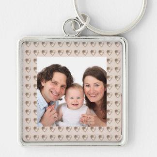 Hearts/Photo Keychain