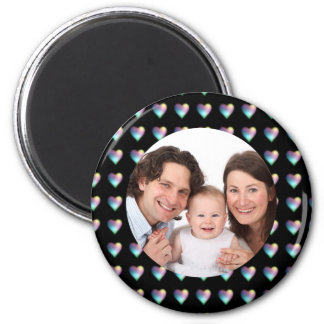 Hearts/Photo Magnet