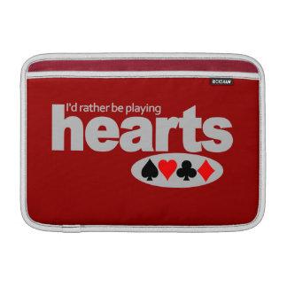 Hearts Player custom iPad / laptop sleeve MacBook Sleeves