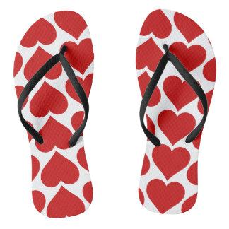 HEARTS.png Flip Flops