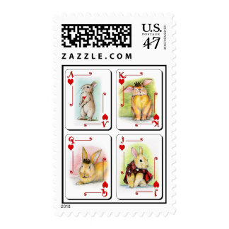 HEARTS POSTAGE STAMP