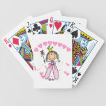 Hearts Princess Bicycle Playing Cards