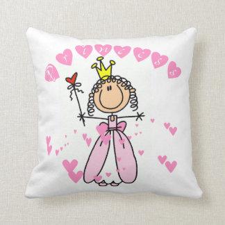 Hearts Princess Pillow