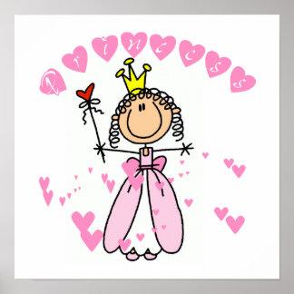 Hearts Princess Poster