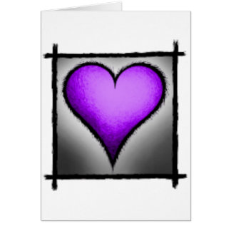 hearts-Purple Card