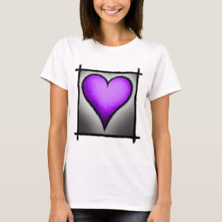 hearts-Purple T-Shirt
