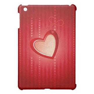 Hearts Red Gold  iPad Mini Case