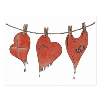 Hearts' Resuscitation Postcard