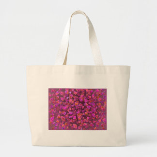 Hearts Scatter Large Tote Bag