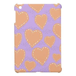 hearts scrapbook iPad mini covers