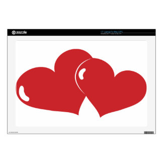 Hearts Decal For Laptop