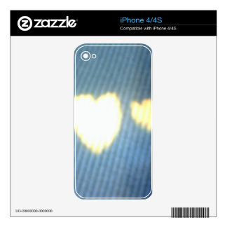 Hearts Skins For iPhone 4S