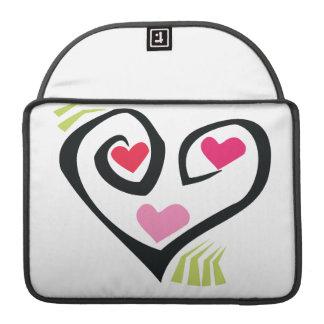 Hearts Sleeve For MacBooks